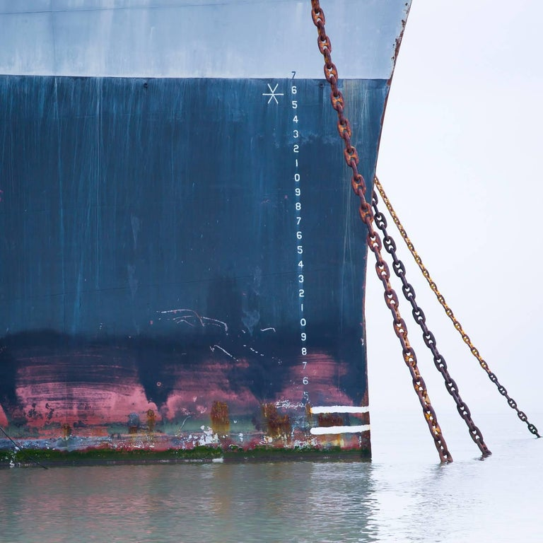 Geister X / ghost ship - contemporary floating photograph