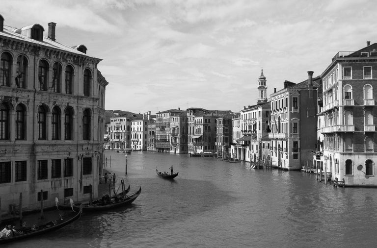 Venice Black and White Photography. We can offer a simple white or black frame under plexiglass for additional cost. Black and white photography, limited edition 1/20 signed. Nina Krause is a young artist, born in Poland however, she dedicated most