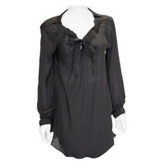 Nina Ricci Back Silk Blouse
