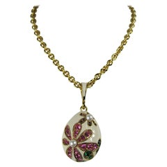Nina Ricci Necklace swarovski crystal Drop New, Never Worn - 1980s