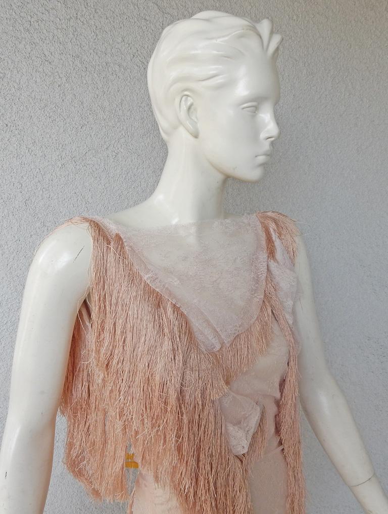 Women's Nina Ricci Romantic Runway Delight Lace Confection Dress Gown For Sale