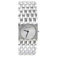 Nina Ricci Silver Stainless Steel N00113 Women's Wristwatch 25 mm