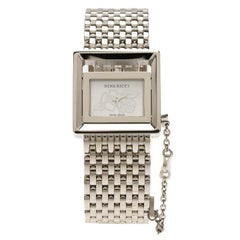 Nina Ricci Silver Stainless Steel N022 Women's Wristwatch 22MM