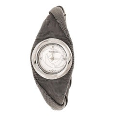 Nina Ricci Silver White Stainless Steel NO31 Women's Wristwatch 28 mm