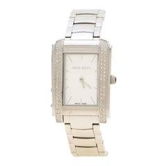 Nina Ricci Silver White Stainless Steel NRD036001 Women's Wristwatch 27 mm