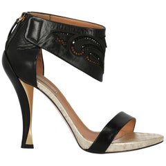 Nina Ricci Woman Sandals Black IT 39