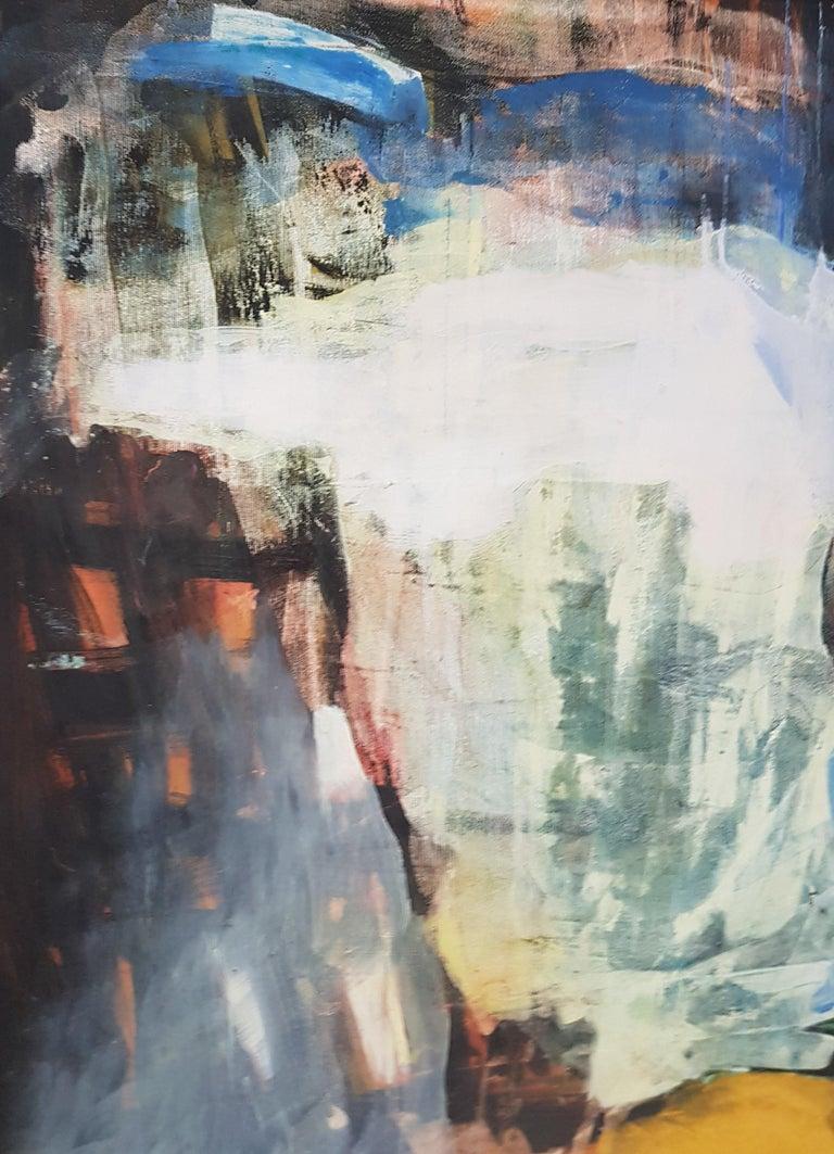 Sunshine Passing Thru - Painting by Nina Ruseva
