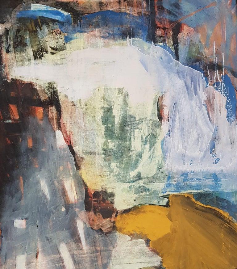 Nina Ruseva Abstract Painting - Sunshine Passing Thru