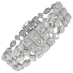 Ninacci Couture 30.56 Carat Total Weight Diamond Bracelet