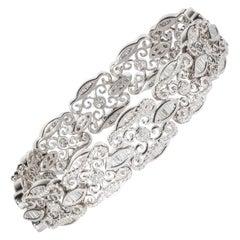 Ninacci Couture 4.58 Carat Total Weight Diamond Bracelet
