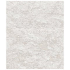 Nine Beige Hand Knotted Wool, Tencel and Aloe Rug 'Large-Size'