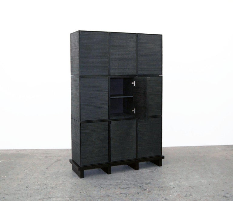 American Nine Rectangles Chest of Doors For Sale