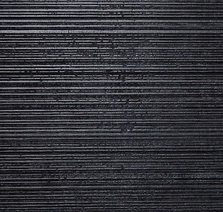 Blackened Nine Rectangles Chest of Doors For Sale