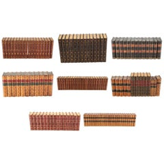 Nine Sets of Leatherbound Books, Some Limited Editions- Including Byron, Dickens