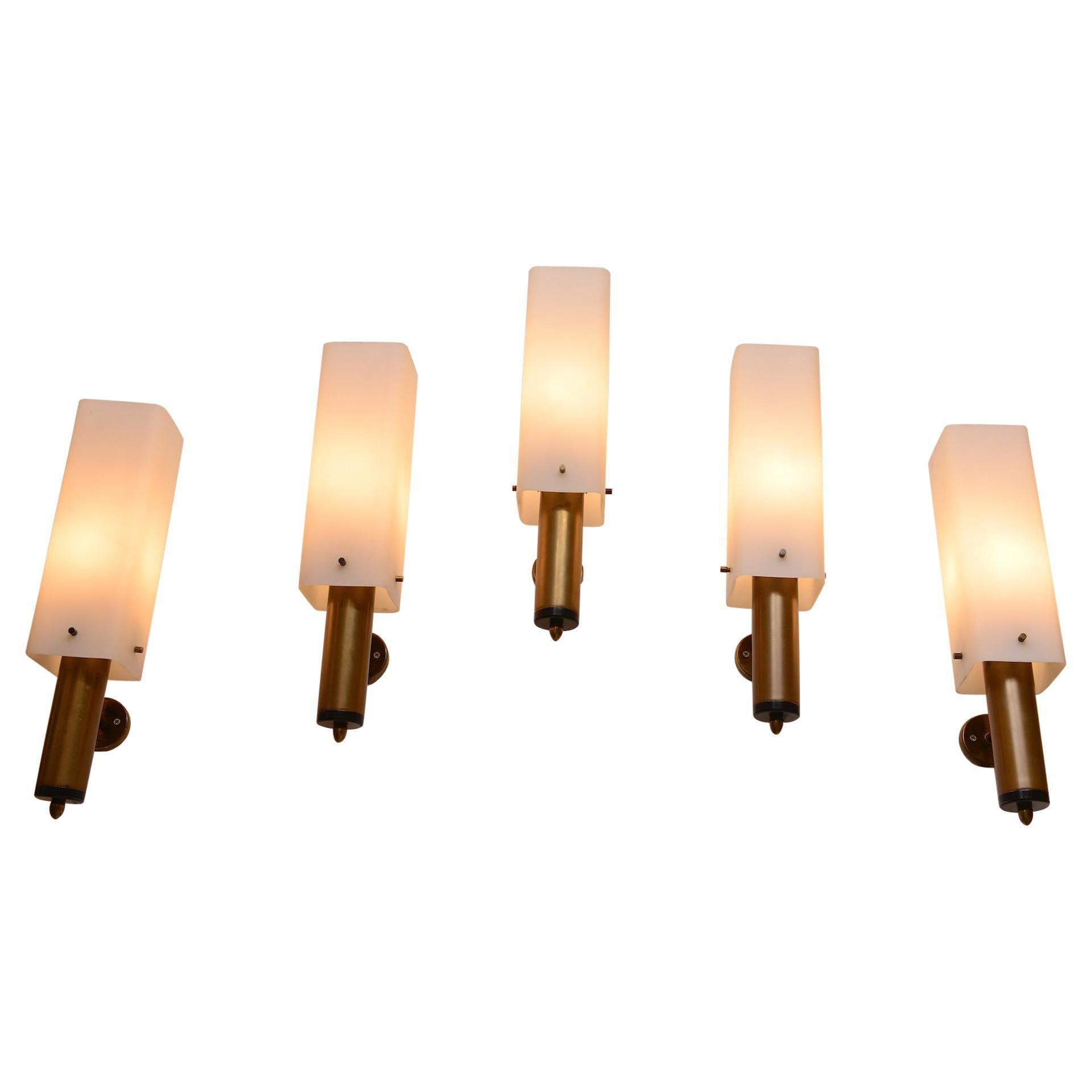 Nine Stilnovo Wall Lights