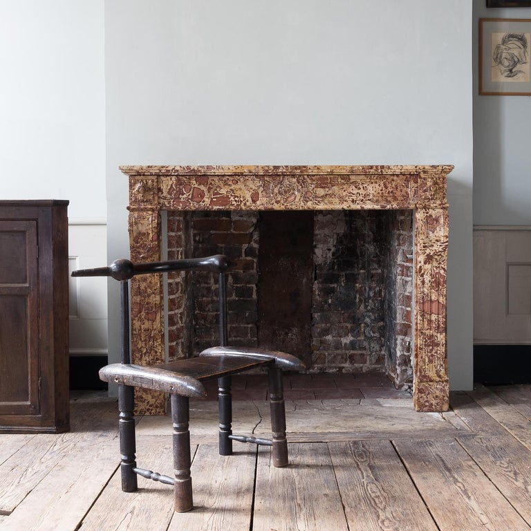 19th Century French Breche Fireplace For Sale 14