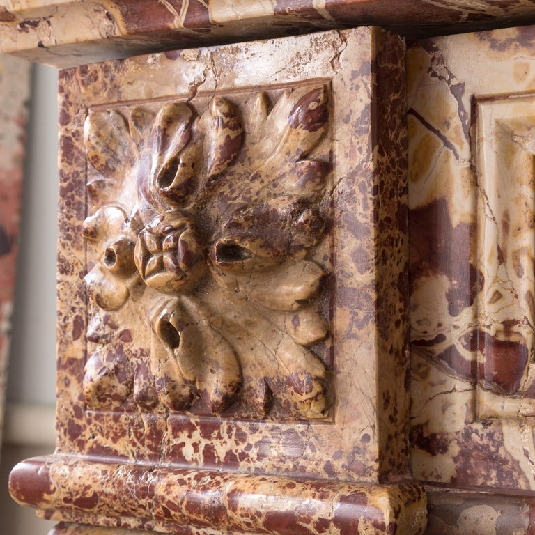 19th Century French Breche Fireplace For Sale 2