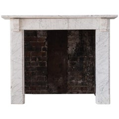 19th Century 'Old English' Marble Fireplace