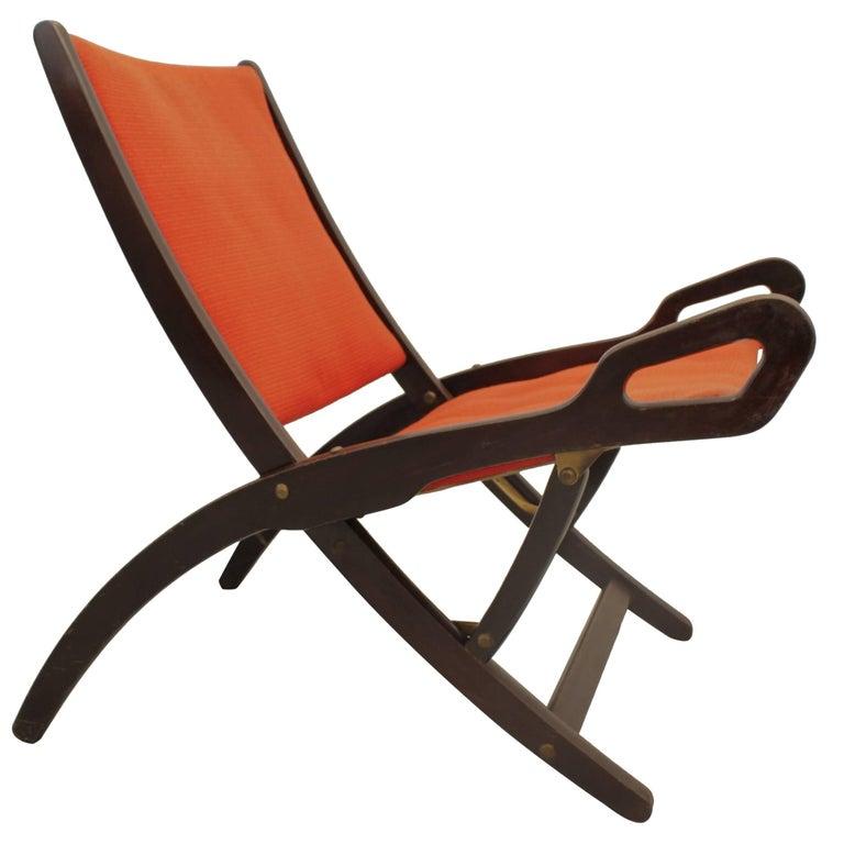 """Ninfea"" Folding Chair by Gio Ponti For Sale"