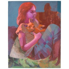 """Ninos"" Oil on Canvas"