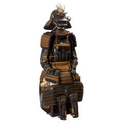 Niō-dō Tosei Gusoku, Samurai Armor with a Stylized Torso Design