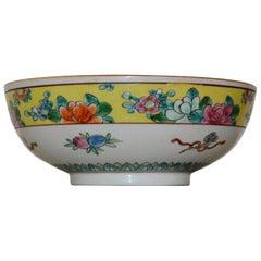 Nippon Porcelain Asian Bowl