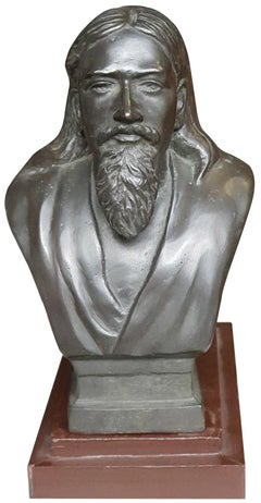 "Sri Aurobindo, Indian Philosopher & Spiritual Master, Bronze Sculpture""In Stock"""