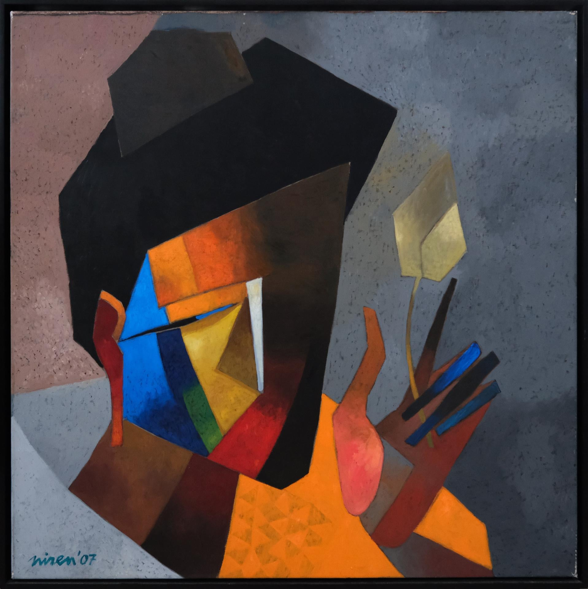 Eternal Quest, Indian Artist (Delhi),Aesthetic Expressions, Geometric Objects