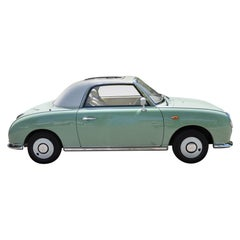 Nissan 'Figaro' Limited Retro Car Designed by N.Sakai and S.Takahashi 1991 Tokyo