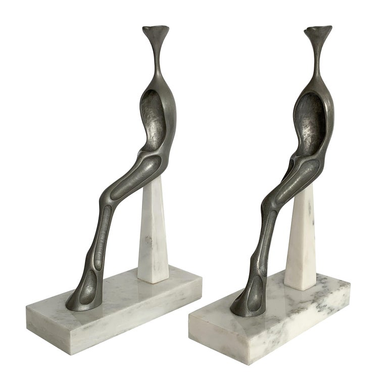 Nita K Sunderland Abstract Seated Figure Sculptures For Sale