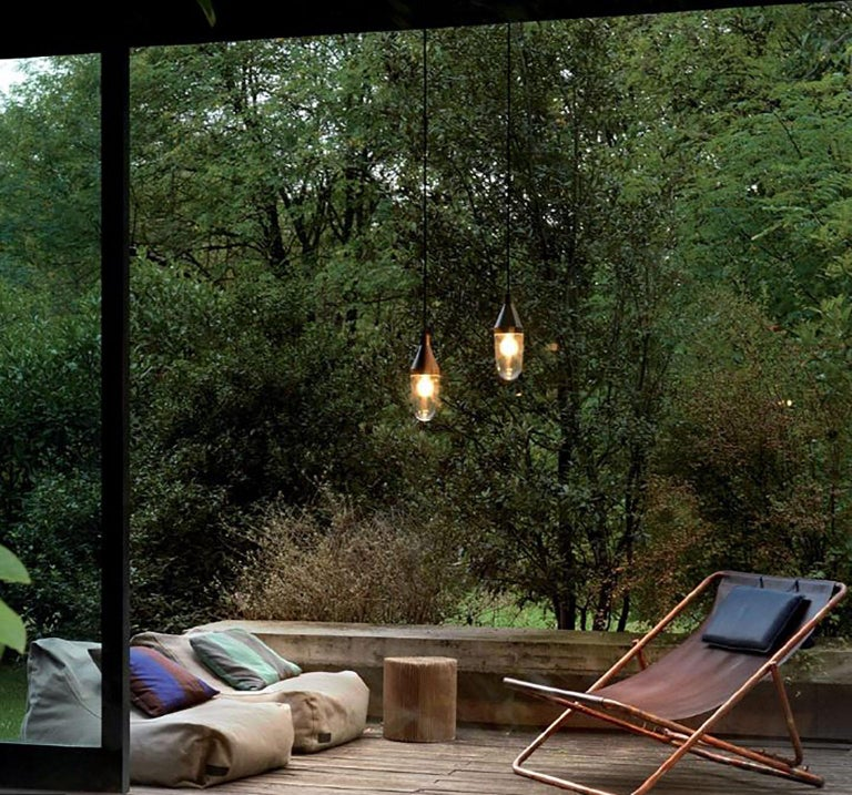 Italian Niwa Outdoor Lamp by Christophe Pillet for Oluce For Sale