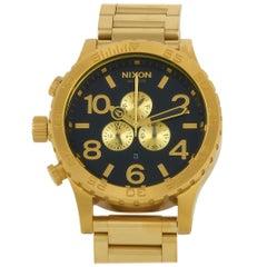 Nixon 51-30 Chrono All Gold/Black Watch A083-510-00