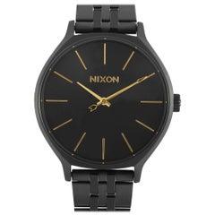 Nixon Clique All Black Watch A1249-001-00