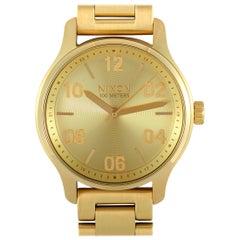 Nixon Patrol All Gold Watch A1242-502-00