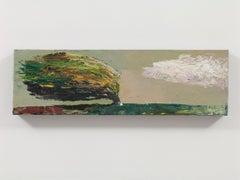 'Storm Clouds', landscape, oil painting, Azerbaijan, scenery