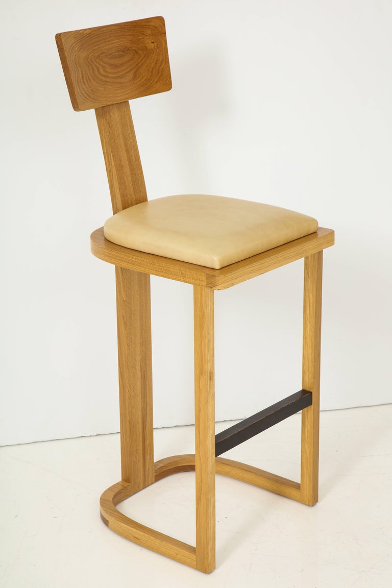 American NK Collection T Bar Stool For Sale