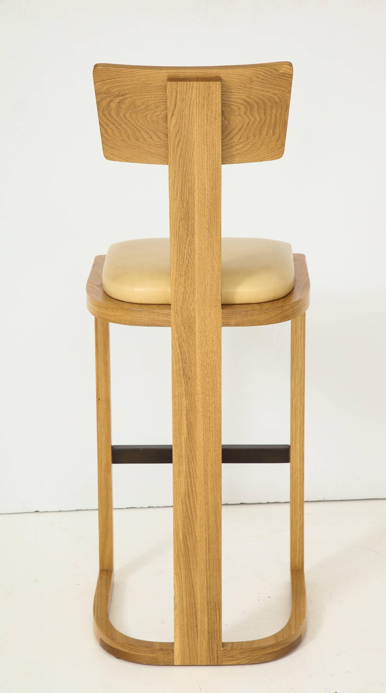 NK Collection T Bar Stool For Sale 1