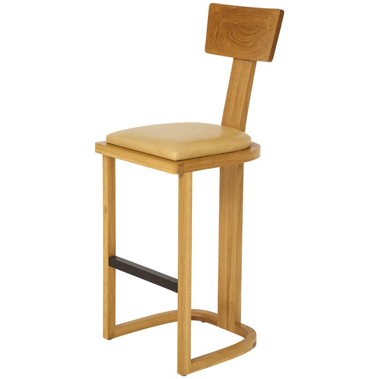 NK Collection T Bar Stool For Sale