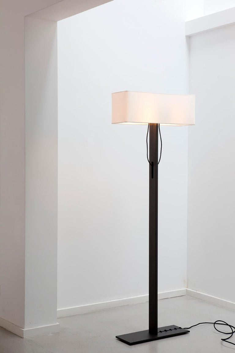In 1995 this floor lamp was specially designed for an interior project in Amsterdam and destined to become a Classic. There is a need for the old fashioned light the traditional floor lamp provides. No. 19 Classic pays homage to Coco Chanel who