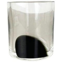 No. 2 New Old Stock Large 3.1kg Murano Glass Vase Antonio da Ros Cenedese, 1970s