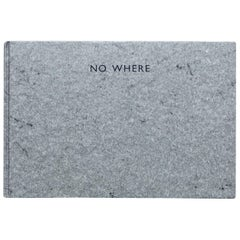 No Where, Richard Long Book Hand Signed