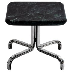 Nº189 Side Table by Avoirdupois, a Marble and Metal End Table