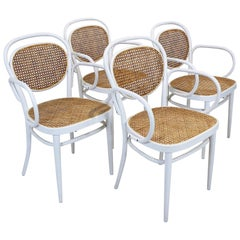No.215 Bentwod Armchairs by Michael Thonet for Thonet