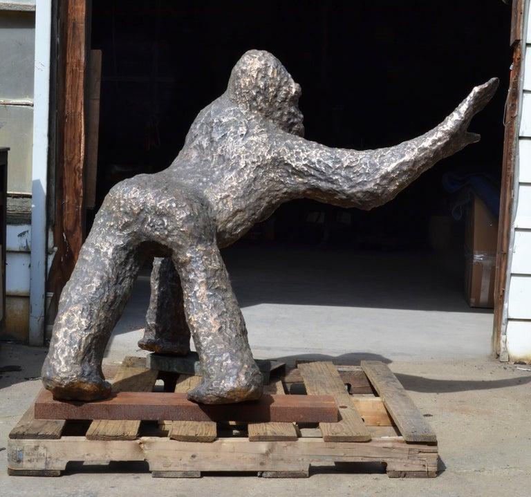 Noa Bornstein's bronze sculpture