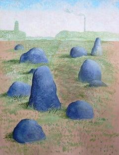 Noah Becker 'Landscape Near an Industrial Area'