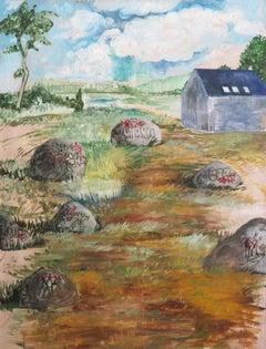 Noah Becker 'Landscape with House'