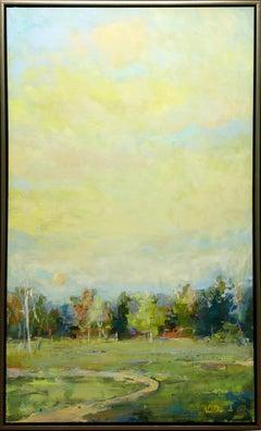 """Beyond the Sun"" by Noah Desmond 60 x 36 inch Oil on Canvas"