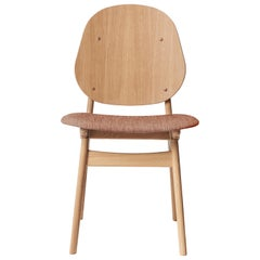 Noble Chair in Oak with Upholstery, by Arne Hovmand-Olsen from Warm Nordic
