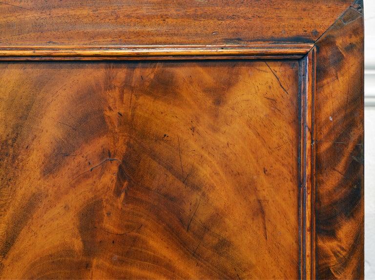 Noble Early 19th Century George III Mahogany Breakfront Secretary Bookcase 9