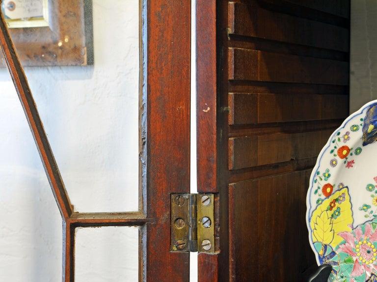 Noble Early 19th Century George III Mahogany Breakfront Secretary Bookcase 10
